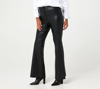 Peace Love World Petite Faux Leather Pants