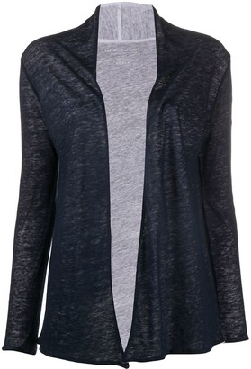 Majestic Filatures Open-Front Cardigan
