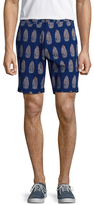 Jachs Printed Bleecker Shorts