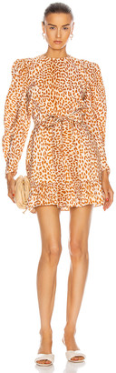 Ulla Johnson Rosaria Dress in Cheetah | FWRD