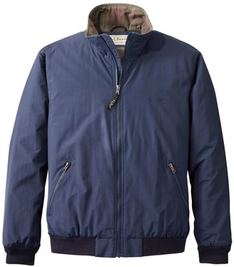 L.L. Bean Men's Warm-Up Jacket, Flannel-Lined