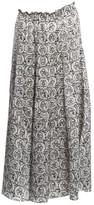 Sonia Rykiel White Silk Skirts