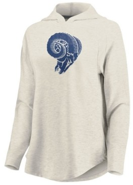 Majestic Women's Los Angeles Rams French Terry Pullover