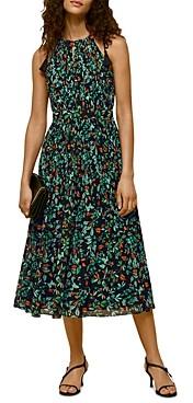 Whistles Forrest Floral Halter Dress