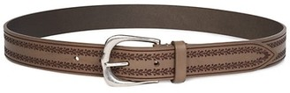 Isabel Marant Linna Embroidered Leather Belt