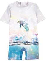 Stella McCartney Infant Girl's Sonny Dolphin One-Piece Rashguard Swimsuit