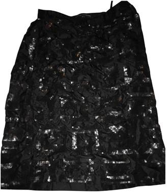 French Connection Black Silk Skirt for Women