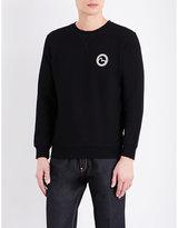 Evisu Logo-print Cotton-jersey Sweatshirt