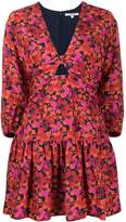 Derek Lam 10 Crosby Talia Modern Hibiscus short dress