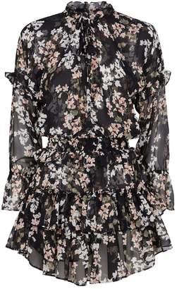 MISA Los Angeles Lolita Floral Mini Dress