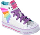 Skechers Kids' Twinkle Toes Shuffles Wander Wings Sneaker Toddler