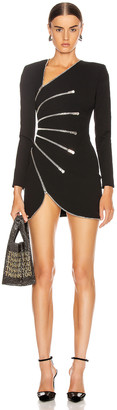 Alexander Wang Long Sleeve Dress in Black | FWRD