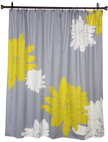 Blissliving Home Ashley Citron Shower Curtain
