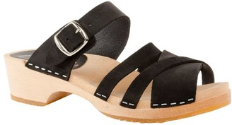 Cape Clogs Wooden Open Toe Sandals - Pia