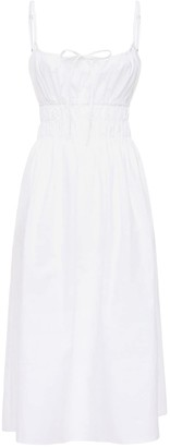 Ciao Lucia Gabriela Washed Cotton Mini Dress