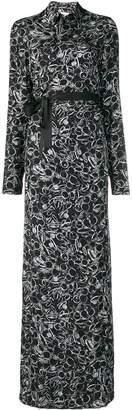 A.F.Vandevorst Ring Print Maxi Shirt Dress