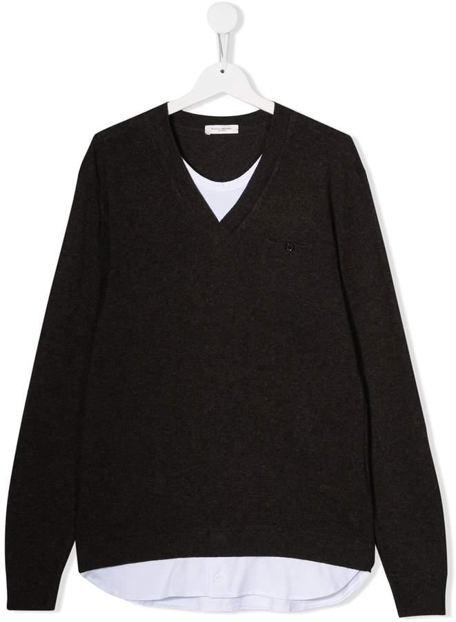 Paolo Pecora Kids Morot sweatshirt