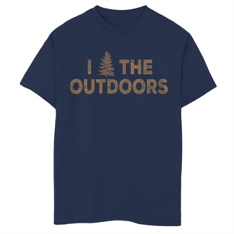 Fifth Sun Boys 8-20 Outdoor Life Graphic Tee