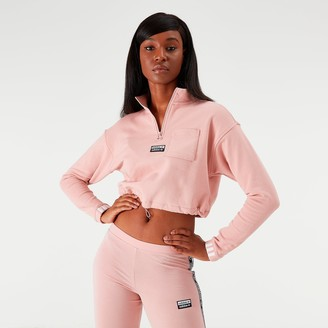 adidas Women's Vocal Crop Half-Zip Top