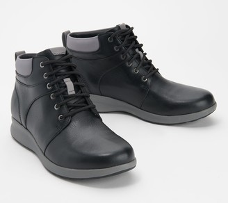 Clarks Leather Lace-Up Boots - Un Adorn Walk