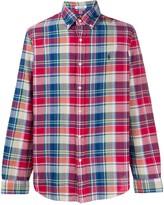 Ralph Lauren button-collar check shirt