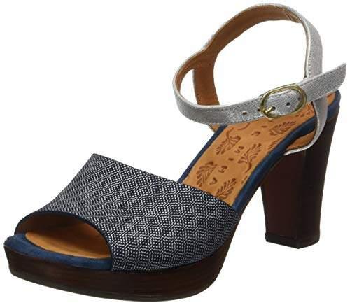 95f15b1d Women's Erick Ankle Strap Sandals, Blue (Mica Cyprus Plata Ante Indigo Navy)