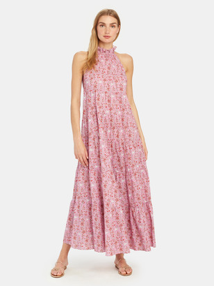 Rhode Resort Julia Maxi Halter Dress