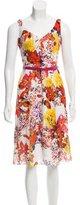 Erdem Silk Floral Print Dress w/ Tags