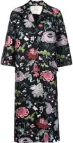 ADAM by Adam Lippes floral jacquard opera coat - women - Polyester - XS