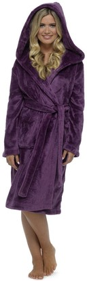 KATE MORGAN Ladies Soft Comfy & Cosy Dressing Gown (16-18