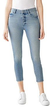 DL1961 Farrow Cropped Skinny Jeans in Sterling