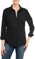 NYDJ Long Sleeve Solid Shirt