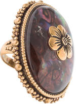 Stephen Dweck Abalone Doublet Cocktail Ring