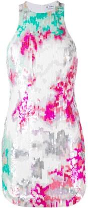 ATTICO Sequin-Embellished Sleeveless Dress