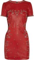 Isabel Marant Dreamy studded stretch-leather mini dress