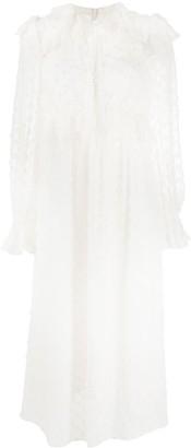 Zimmermann Textured Midi Dress