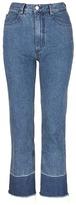 Rachel Comey 'Legion' raw edge cuff slim leg jeans