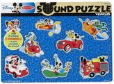 Melissa & Doug Disney's Mickey Mouse & Friends Vehicles Wooden Sound Puzzle by