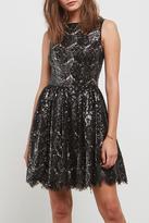 BB Dakota Sequin Lace Dress
