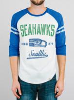 Junk Food Clothing Nfl Seattle Seahawks Raglan-sugar/liberty-xxl