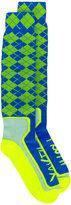 Maison Margiela argyle socks - women - Polyester - M
