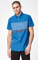 RVCA Dye Block Short Sleeve Button Up Shirt