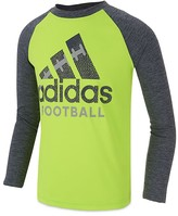adidas Boys' Tech Football Logo Tee - Sizes 4-7