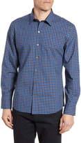 Zachary Prell Abdul Regular Fit Plaid Button-Up Shirt