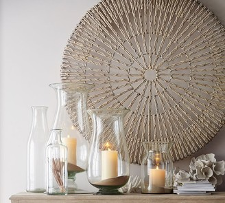 Pottery Barn Woven Wheel Wall Art