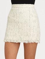 Alice + Olivia Gabel Tweed Skirt
