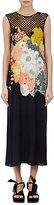 Dries Van Noten Women's Dorsey Floral-Print Crepe Midi-Dress-Black