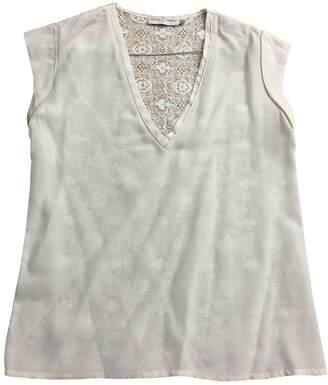 Koshka Mashka \N White Silk Top for Women