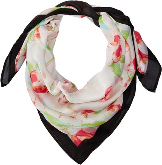 Collection XIIX Women's Cherry Floral Bandana
