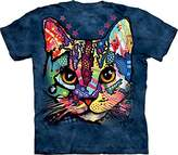 The Mountain Men's Patches The Cat Adult T-Shirt